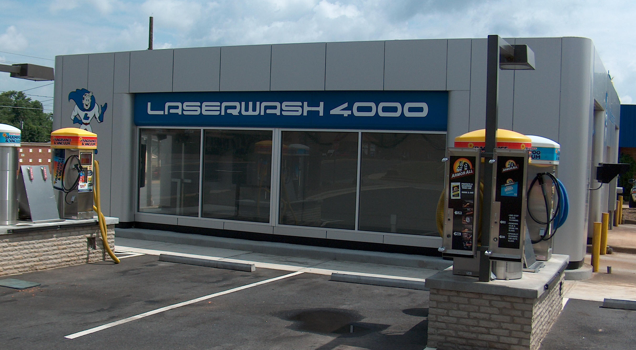 modular car wash car wash building construction